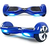 Windgoo Hoverboard 6.5' Balance Board Bluetooth Patinete Eléctrico Scooter Talla LED, Scooter...