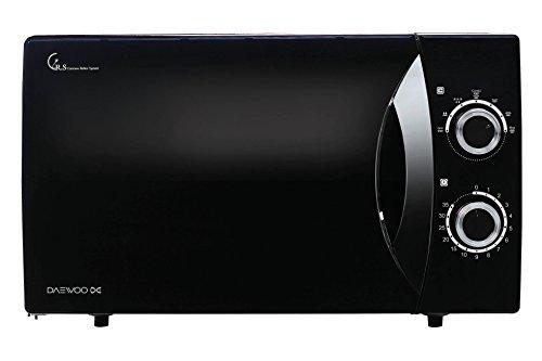 Daewoo KOG-8A07 Forno a Microonde Meccanico Combinato Grill, 23 lt, Nero