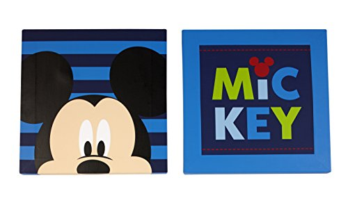 Disney Mickey Décoration murale, 2 fils