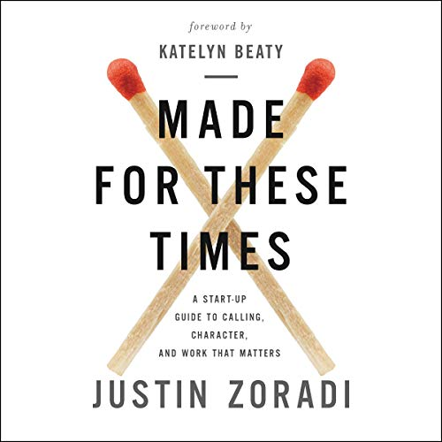 Made for These Times audiobook cover art