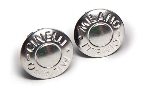 Cinelli Milano Bouchon de guidon Argent