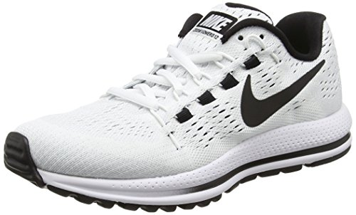 Nike Women's WMNS Air Zoom Vomero 12 Running Shoes, White (White/Pure Platinum/Black), 3.5 UK 36.5 EU