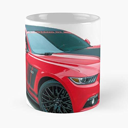 5TheWay Mustang Ford Mug Best 11 oz Kaffeebecher - Nespresso Tassen Kaffee Motive
