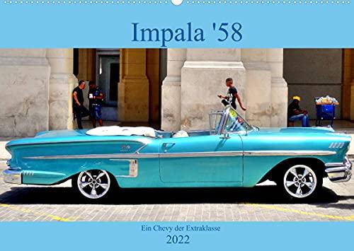 Impala \'58 - Ein Chevy der Extraklasse (Wandkalender 2022 DIN A2 quer)