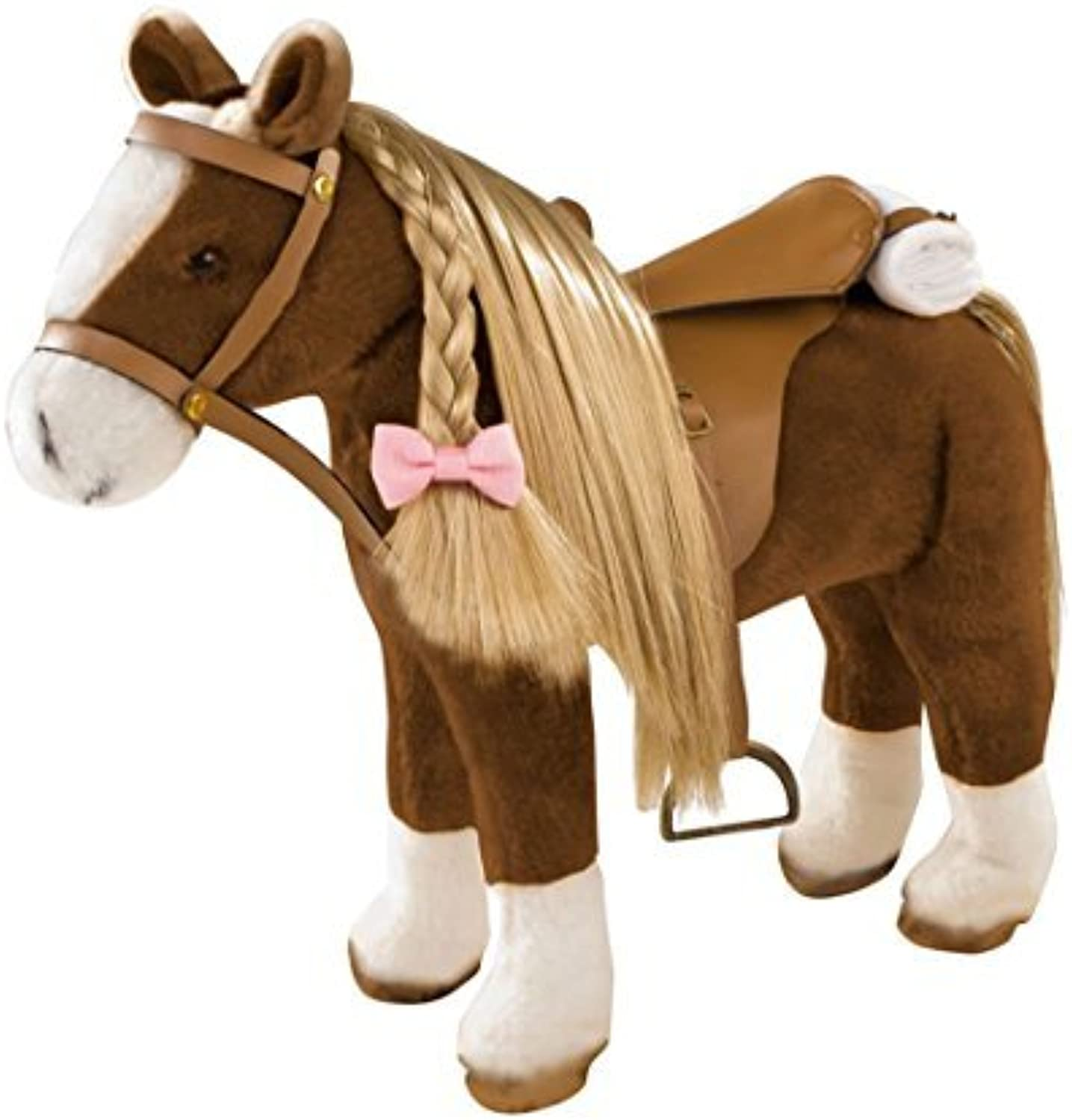 Gotz Big Plush Combing Horse to Brush and Style for 18 and 19.5 Dolls by Gotz