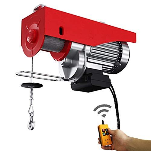 Polipasto eléctrico de elevación 200/300 kg, polipasto de elevación con Control Remoto...