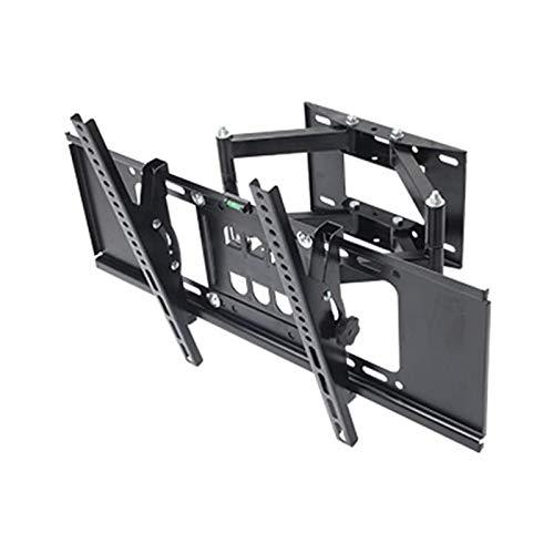 Soporte tv suelo Articulating TV Monte Monte en la pared grande Bracketw, soporte de montaje en pared de TV para televisores de 32-70 pulgadas / características Extensión de la inclinación giratoria V