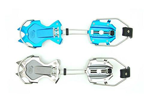 Desconocido Kong Rampones de Aluminio Automáticos Rutor, Azul/Gris, 10 Puntas