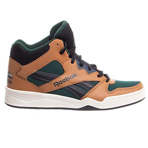 Reebok Men's BB4500 Hi 2 Sneaker, Wild Brown/Forest Green/Black, 9