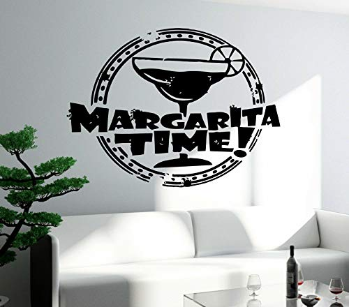 Wopiaol Restaurant bar wandtattoo vinyl alcohol drank margarita glas decor voor keuken muur stickers afneembare kamer decor muurschildering