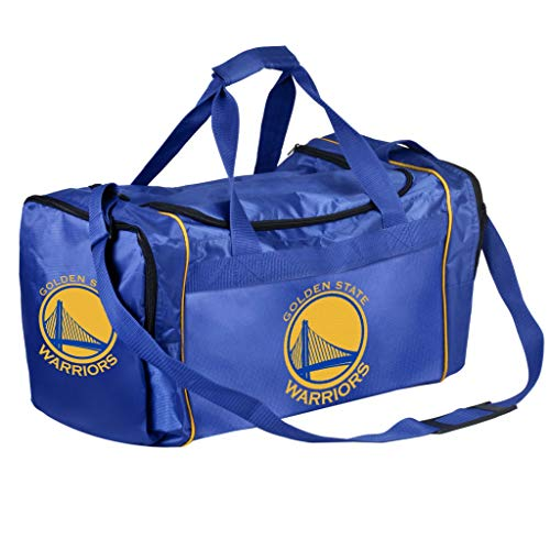 NBA Golden State Warriors Bolsa de moletom unissex Core DuFFEL Bagcore, cor da equipe, OS