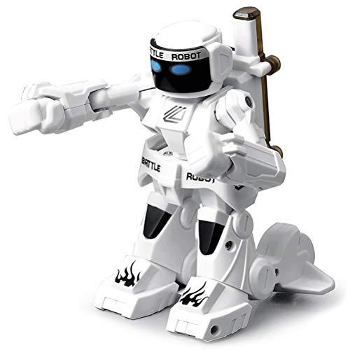 MAICOLA Batalla Robot RC 2.4G Boxeo Robot Cuerpo de detección remota de Control Interactivo de Boxeo Robot Juguetes para niños Regalo