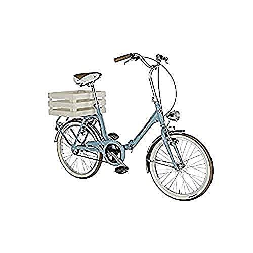 Alpina Bike Camping 20', Bicicletta Unisex Adulto, Acquamarina, 1v
