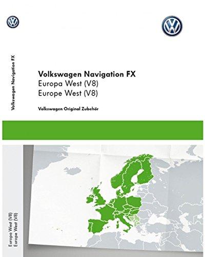 Volkswagen Original VW Navi Navigationsdaten Europa V8 Navigation Update RNS 310