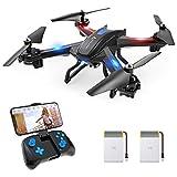 SNAPTAIN S5C 720P Drone con Telecamera HD FPV, Quadricottero WiFi Un Pulsante Decollo e Atterraggio, G-sensore, 3D Flip, Funzione di Hovering, Adatto ai Principianti e Bambini
