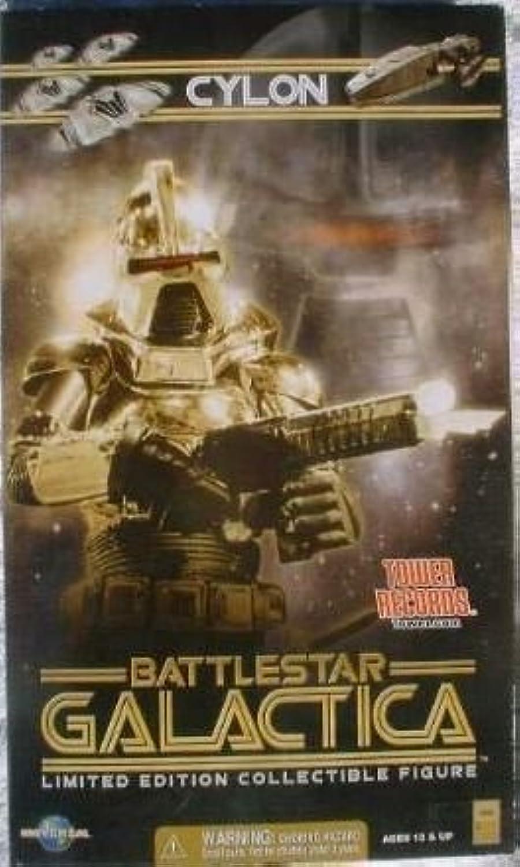 Classic Battlestar Galactica Gold Cylon Commander 12 Inch Action Figure 1 6 Scale by Battlestar Galactica