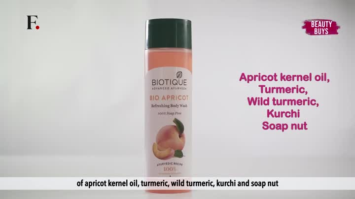 Biotique Bio Apricot Refreshing Body Wash, 190ml And Biotique Bitter Orange Bio Orange Whitening Face Loton For Men… 2021 July Quantity: 190ml; Item Form: Foam Fresh-foaming, 100% soap-free gel is a refreshing gel; Contains Apricot, Kernel Oil, Wild Turmeric, kurchi and soap nut It cleanses without dehydrating removing all microbes and pollutants