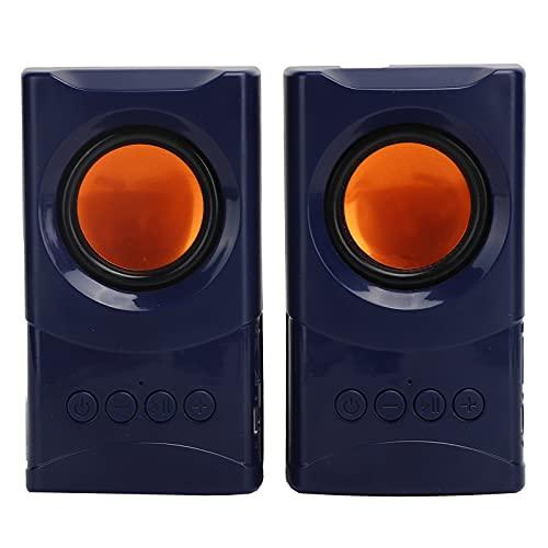 PUSOKEI Wireless Deskstop Stereo Lautsprecher Bluetooth Desktop Monitor...