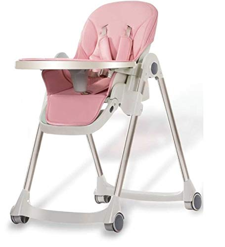 Review QIQI Maternal and Child Supplies Children's Dining Chair Multi-Function Folding Baby Dining C...