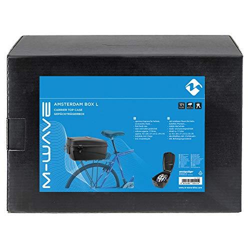 M-Wave Fahrradkoffer, schwarz, 17 l - 4