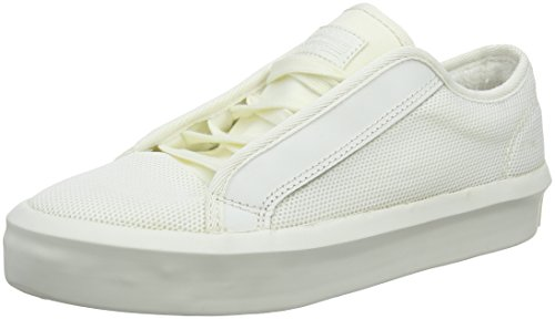 G-STAR RAW Damen Strett Lace Up Sneaker, Weiß (Blanc), 39 EU (6 UK)