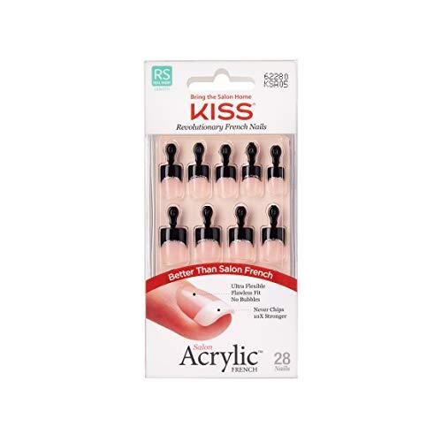 Kiss Salon Acryl Fingernagel-Set, einfaches Leben