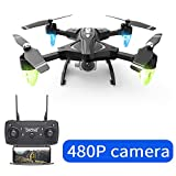 F69 Remote Control Drone with Camera Quadcopter Folding Hold...