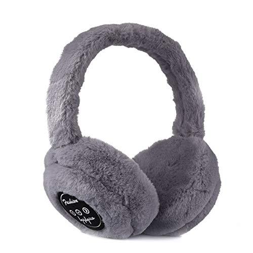 Shubiao Bluetooth Earmuff Warm Plush Wireless Music Earmuffs Unisex for Women Men