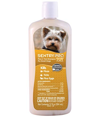 Sentry Pro Toy & Small Breed Dog Flea & Tick Shampoo
