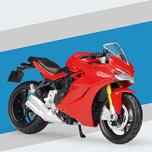 DSWS Motocicleta Miniatura 1:12 para Streetfighter S Red Diecast Aleoy Motory Modelo de Juguete (Color : 1)