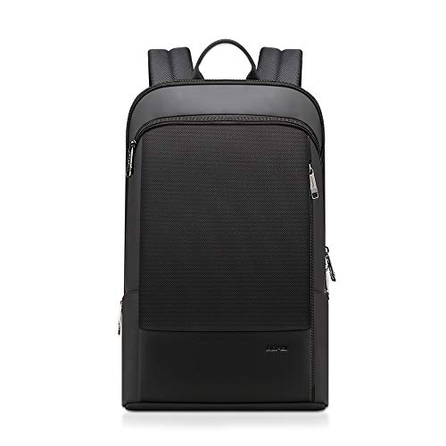 BOPAI Business Backpack for 15 inch Slim Laptop Backpack Waterproof Anti Theft Backpack Lightweight Travel Backpack Commuter Black