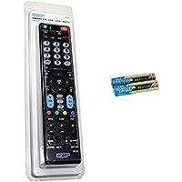 HQRP Mando a Distancia Universal para LG 55UH950V / 49UH770V / 60UH770V / 65UH770V / 65UH950V / 65UH850V / 55UH850V Televisor UHD (4K) con Smart TV