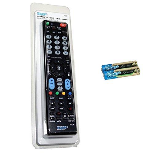 HQRP Mando a Distancia Universal para LG 55UH950V / 49UH770V / 60UH770V / 65UH770V / 65UH950V / 65UH850V / 55UH850V Televisor...
