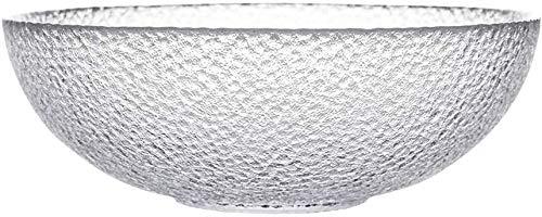 SLZFLSSHPK Bol Soupe Saladiers Saladier transparent en verre Fruit Bowl Grand Dessert Bowl Soupe maison Bowl Ramen Bowl (Size : Large)