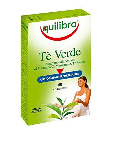 Equilibra - Tè Verde, 40 Compresse - [pacco da 3]