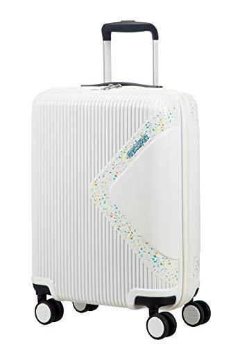 American Tourister Modern Dream - Spinner S Equipaje de mano, 55 cm, 35 L, Blanco (Stardust)
