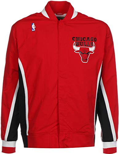 Mitchell & Ness Chicago Bulls 1992-1993 Authentic Warm Up Jacke Rot XXL
