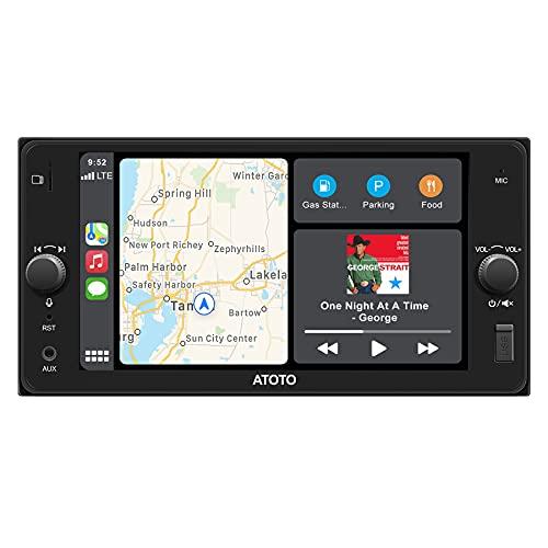 ATOTO F7 SE Video e audio per auto nel cruscotto, per modelli Toyota selezionati-F7TYC7SE CarPlay e ricevitore Android Auto,Carica del telefono,MirrorLink, Riproduzione USB/SD(7 pollici WUDH07D)