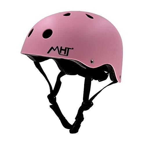 TITST Casco para niños, Casco de Sombrero Ajustable con Equipo de protección Multideporte, Cascos de Bicicleta para niños y niñas de 3-13 años, tamaño 19.6'-21.6' para Patinaje A