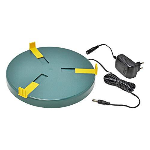 Heizplatte für Tränkenwärmer Tränkenheizung , 25cm, inkl. Netzteil 24V/ 20W - 3