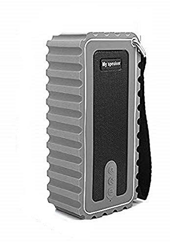 Bluetooth-Lautsprecher, wasserdichter tragbarer IPX7-Lautsprecher, Duschradio, Bluetooth 5.0, 6-W-Stereo-Duschlautsprecher, kabelloser Lautsprecher für Reisen am Strand und im Freien