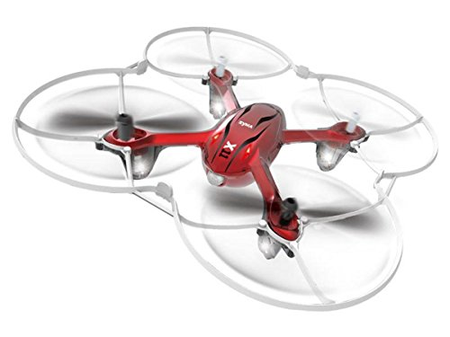 Syma Enermut X11C Explorer HD Air Cam Quadcopter / UFO / Drone / 2.4G 4 Canali con 6 Axis Gyro Assortito Colori / Ready2Fly - Rosso, Plastica