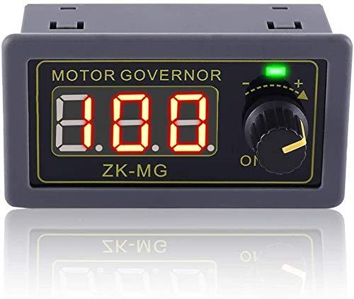 PEMENOL Regulador de velocidad del motor 5 V 12 V 24 V 150 W DC PWM, regulador de velocidad ajustable con interruptor giratorio variable sin niveles, módulo de generador de señal PWM