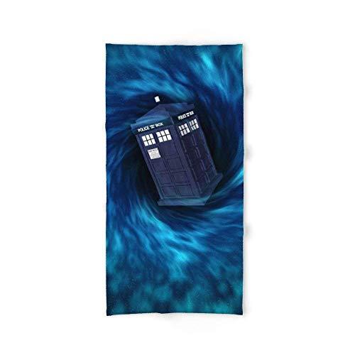 Tardis Dr. Who - Toalla de baño (31,5' x 51,2')