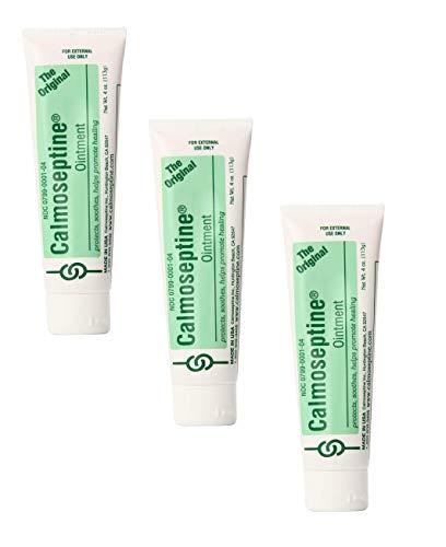 CALMOSEPTINE Ointment Original Tube, 4 Oz (3 Pack)