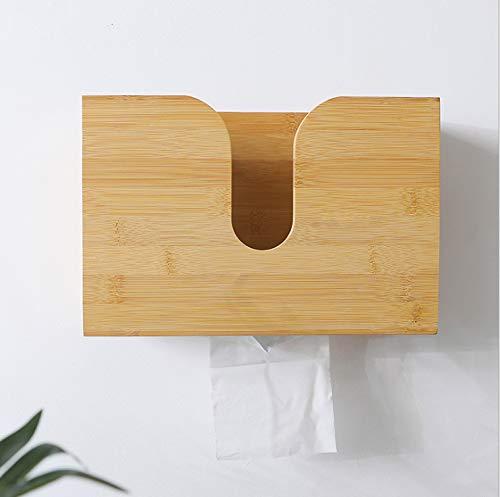 Kakool Retro Holz Papierhandtuchspender, Wandhalterung und Arbeitsplatte, mehrfach gefalteter Papierhandtuchhalter, C-Falz, Zfold, dreifach faltbarer Handtuchhalter für Bad und Küche