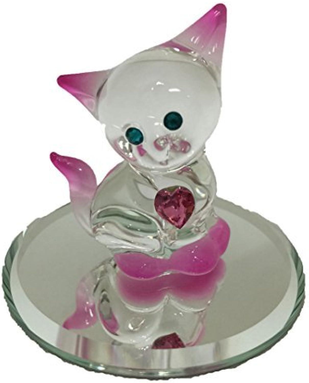 Glass Baron Crystal Kitty by goldia