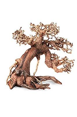 Aquarium Wood Bonsai Tree Decoration Premium Pieces Aquascaping Root Iwagumi Tree L 30x25x20cm from TM Aquatix