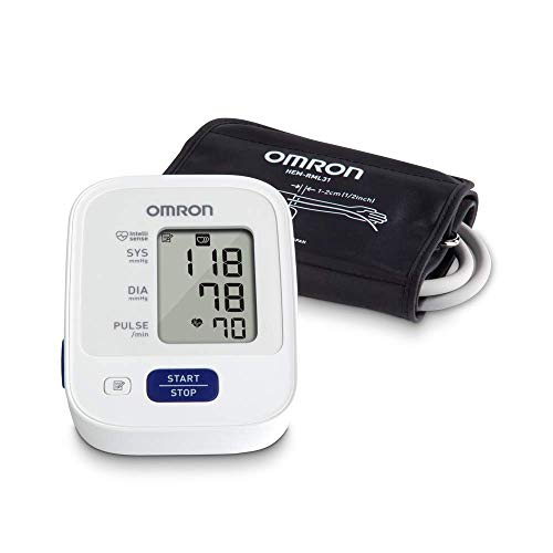 Omron Bronze Blood Pressure Monitor, Upper Arm Cuff, Digital Blood Pressure...
