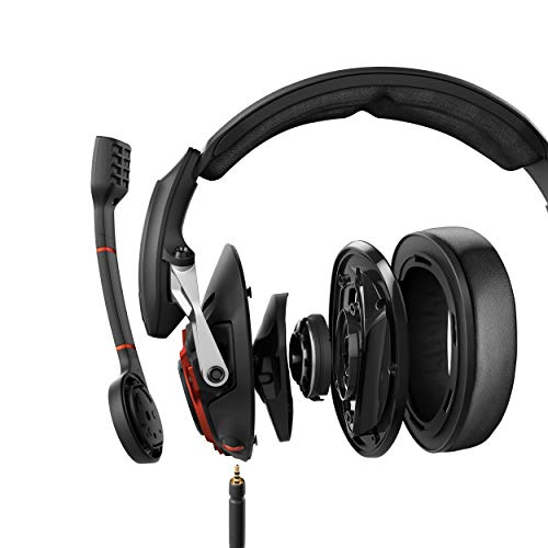 EPOS I Sennheiser GSP 600 Gaming Headset, Geräuschunterdrückendes Mikrofon, Flip-to-Mute, Ergonomisch, Ohrpolster, Kompatibel mit PC, Mac, PS4, PS5, Xbox Series X, Xbox One und Nintendo Switch